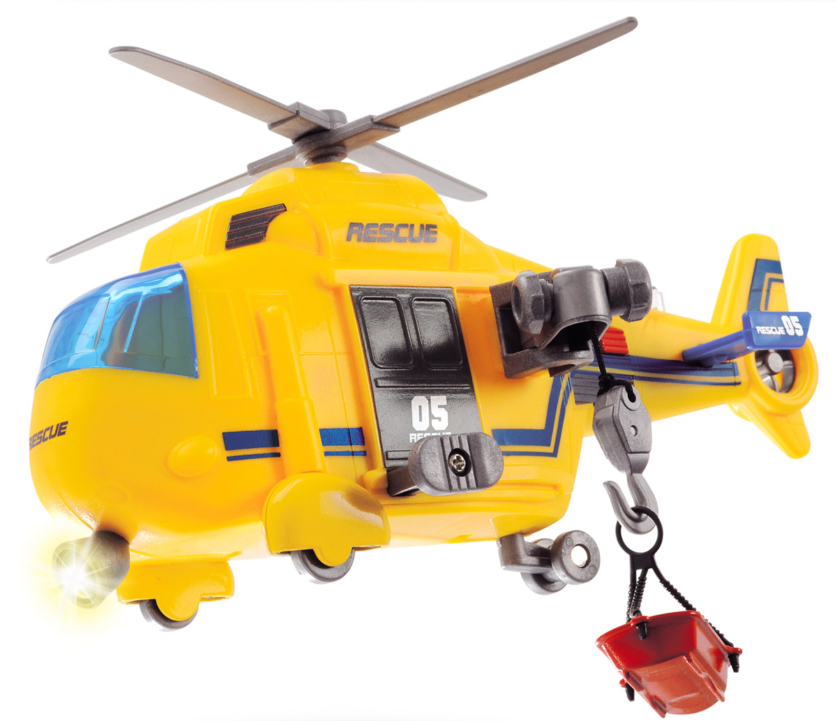 Dickie Toys Спасательный вертолет - Транспорт, машинки