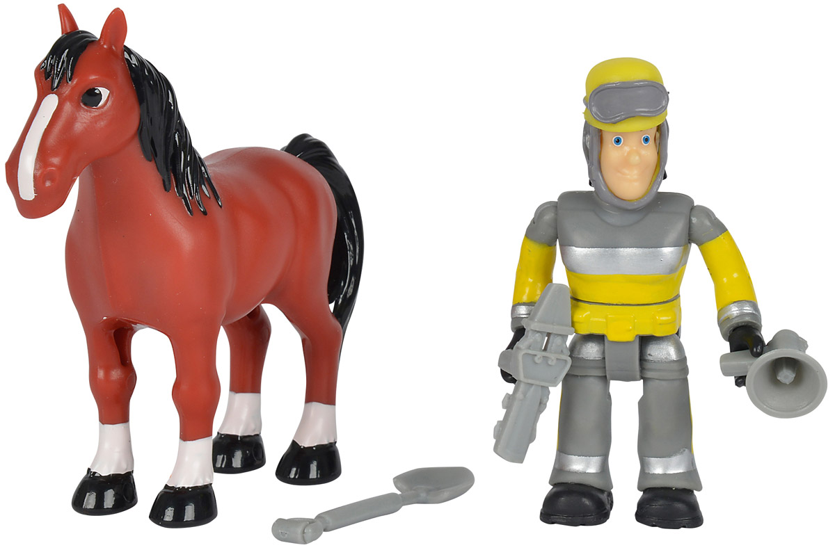 Simba Набор фигурок Sam & Horse фигурки игрушки simba пожарный сэм фигурки 7 5см 3в 24 96