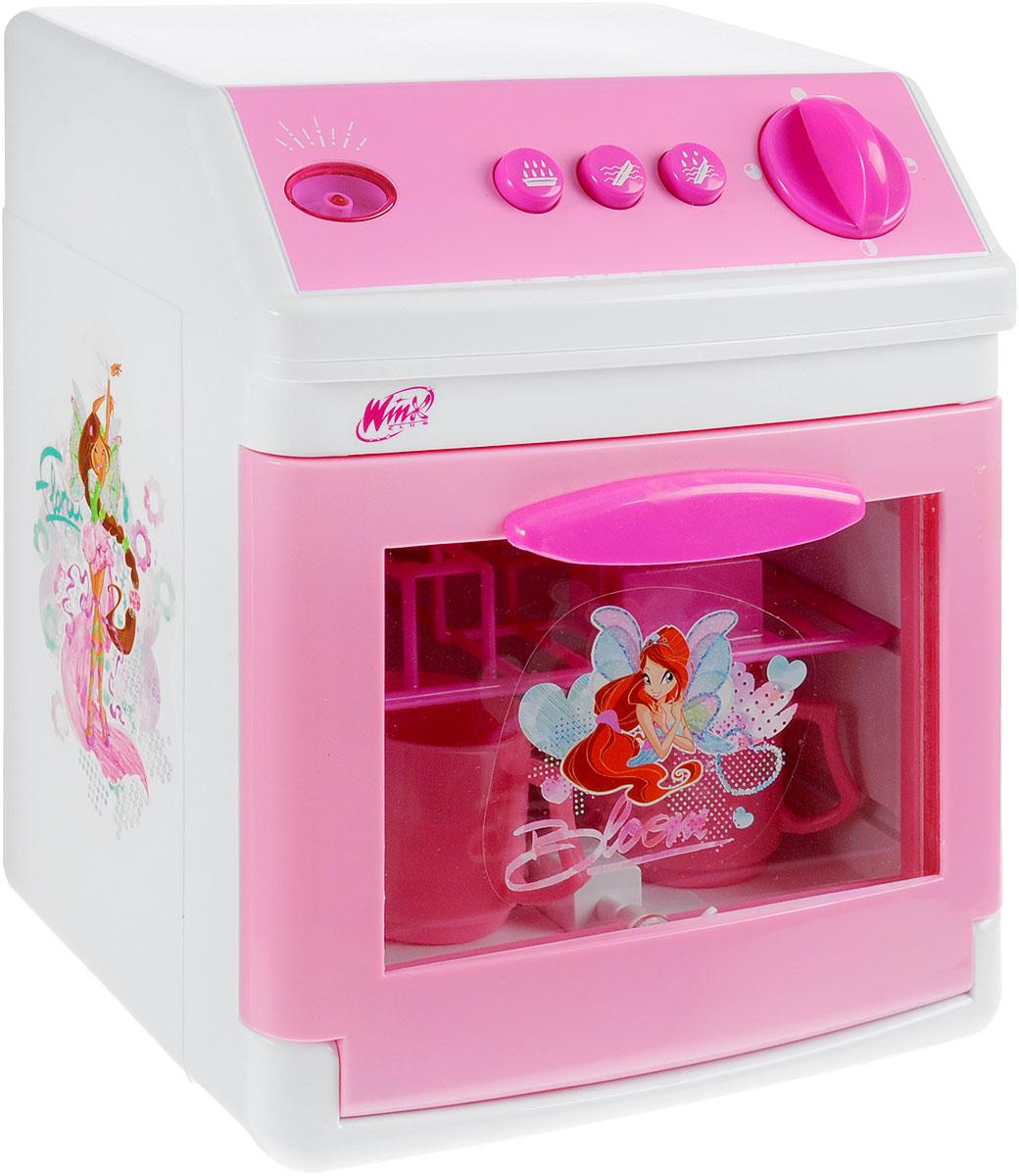 Играем вместе Игрушечная посудомоечная машина Winx Club игровая техника играем вместе посудомоечная машина winx