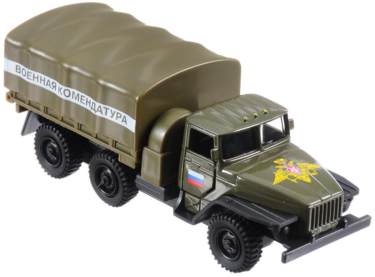ТехноПарк Машина инерционная Урал Военная комендатура