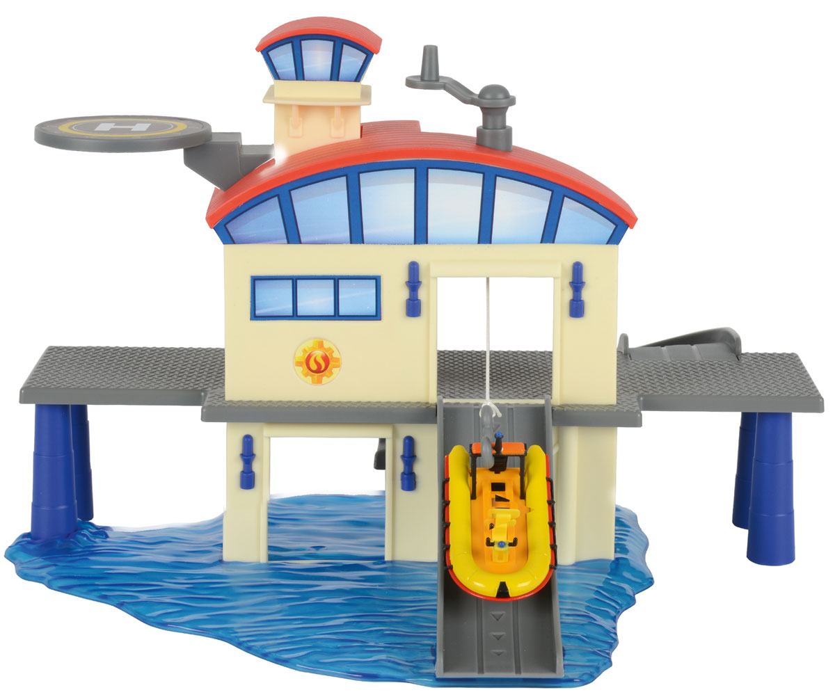 Dickie Toys Игровой набор Морской гараж купить гараж в москве путевой проезд