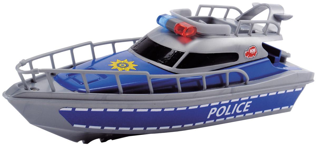 Dickie Toys Полицейская лодка игрушки для ванны dickie полицейская лодка 23 см