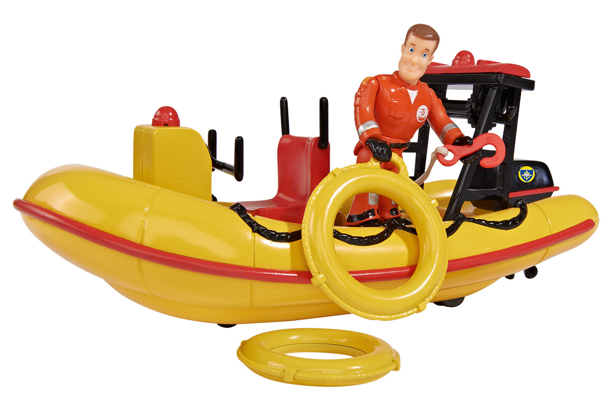 Dickie Toys Лодка спасателей Neptune - Транспорт, машинки