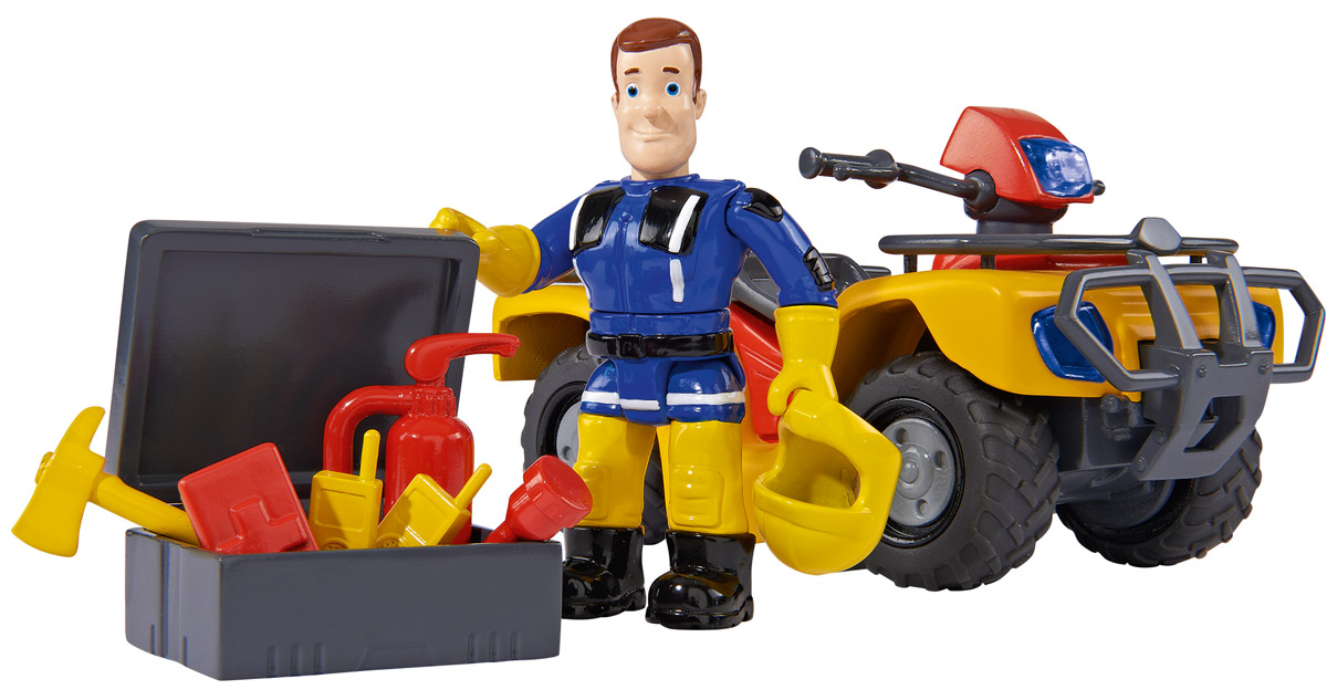 Simba Квадроцикл Mercury фигурки игрушки simba пожарный сэм фигурки 7 5см 3в 24 96