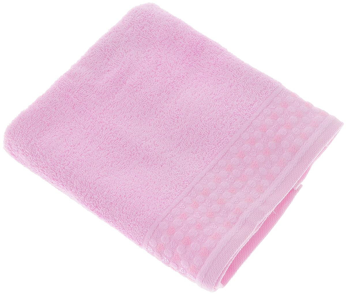 Полотенце Tete-a-Tete Сердечки, цвет: розовый, 50 х 90 смУП-007-04кПолотенце Tete-a-Tete Сердечки выполнено из 100% хлопка. Изделие отлично впитывает влагу, быстро сохнет, сохраняет яркость цвета и не теряет форму даже после многократных стирок.Такое полотенце очень практично и неприхотливо в уходе. Оно создаст прекрасное настроение и украсит интерьер в ванной комнате. Полотенце упаковано в красивую коробку и может послужит отличной идеей для подарка.