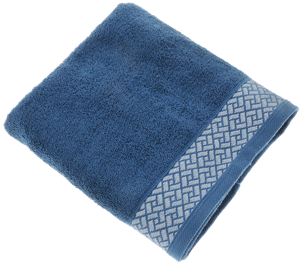 """Полотенце Tete-a-Tete """"Лабиринт"""" выполнено из 100% хлопка. Изделие отлично впитывает влагу, быстро сохнет, сохраняет яркость цвета и не теряет форму даже после многократных стирок.  Такое полотенце очень практично и неприхотливо в уходе. Оно создаст прекрасное настроение и украсит интерьер в ванной комнате. Полотенце упаковано в красивую коробку и может послужит отличной идеей для подарка."""