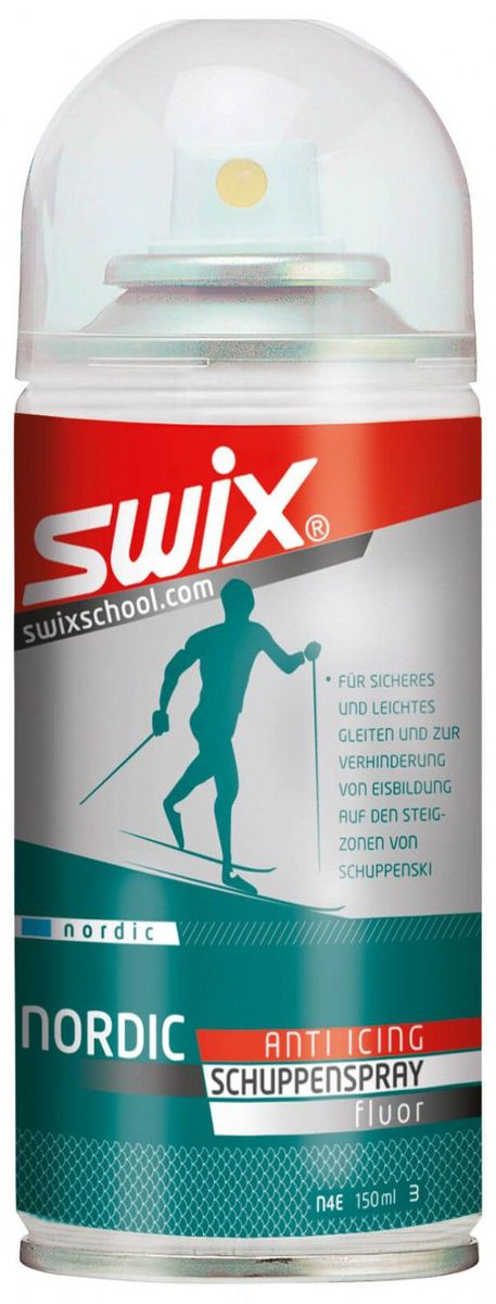 Мазь для лыж с насечкой Swix N4 Easy Glide, аэрозоль, 150 млN4CМазь Swix N4 Easy Glide обеспечивает уход за лыжами с насечками:скользящая поверхность лыж с насечками нуждается в уходе не меньше чем скользящая поверхность без насечек. Отсутствие ухода приводит к окислению и загрязнению скользящей поверхности. Грязные окисленные лыжи медленнее скользят, менееуправляемы, создают больше работы лыжнику.