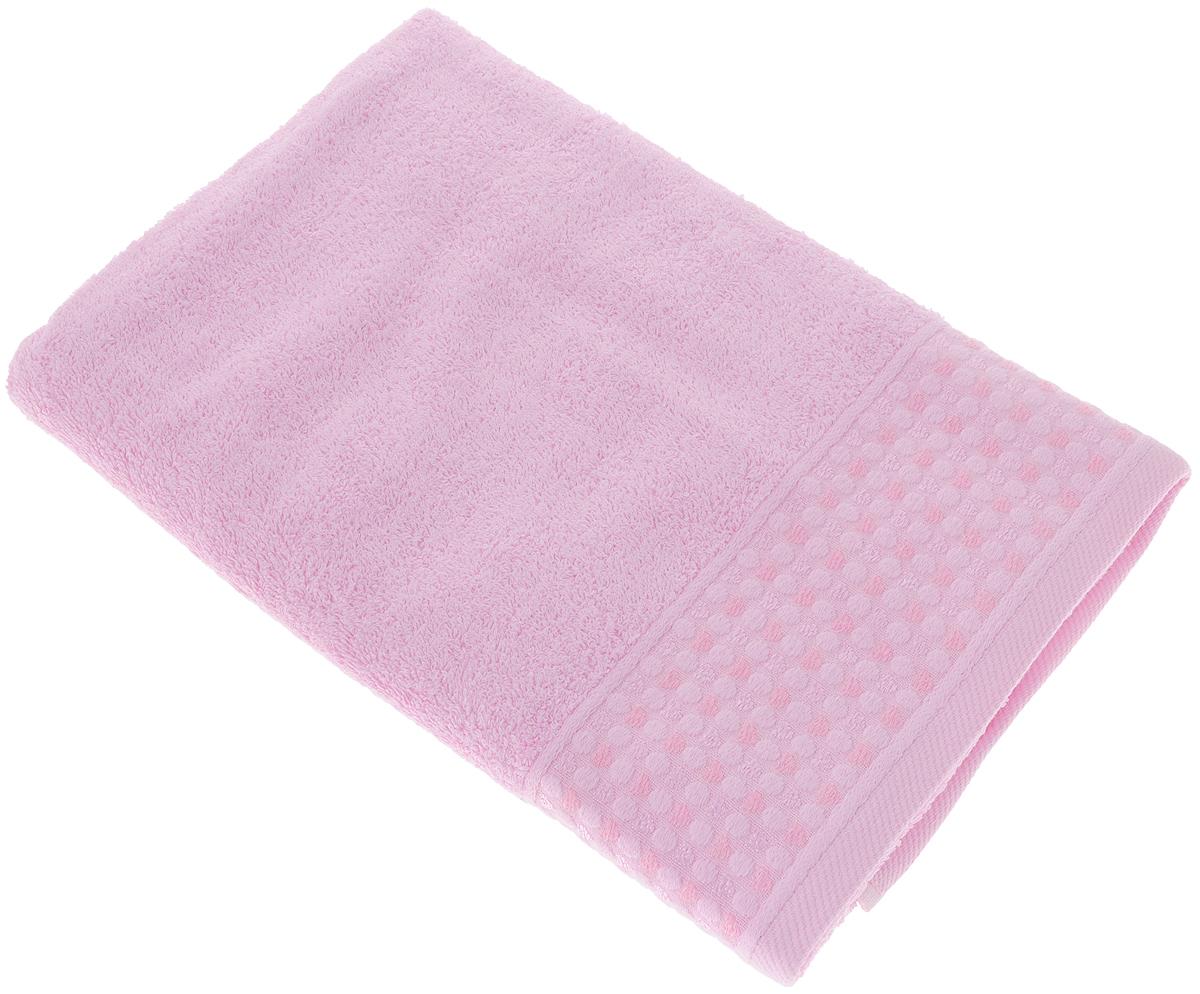 Полотенце Tete-a-Tete Сердечки, цвет: розовый, 70 х 140 смУП-008-04Полотенце Tete-a-Tete Сердечки выполнено из натурального 100% хлопка. Бордюр полотенца декорирован сердечками и горошком. Изделие мягкое, отлично впитывает влагу, быстро сохнет, сохраняет яркость цвета и не теряет форму даже после многократных стирок. Полотенце Tete-a-Tete Сердечки очень практично и неприхотливо в уходе. Оно легко впишется в любой интерьер благодаря своей нежной цветовой гамме.