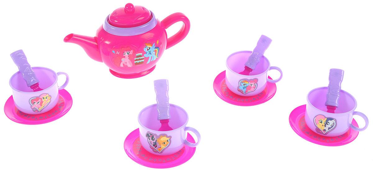 Играем вместе Игрушечный набор посуды My Little Pony 14 предметов играем вместе мозаика из крупных страз мой маленький пони