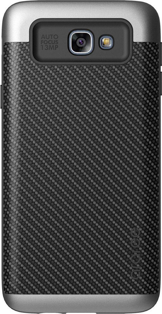 Araree Amy Classic чехол для Samsung Galaxy J5 Prime, SilverAR20-00193BЧехол Araree Amy Classic для Samsung Galaxy J5 Prime бережно и надежно защитит ваш смартфон от пыли, грязи, царапин и других повреждений. Выполнен из высококачественных материалов, плотно прилегает и не скользит в руках. Чехол оставляет свободным доступ ко всем разъемам и кнопкам устройства.