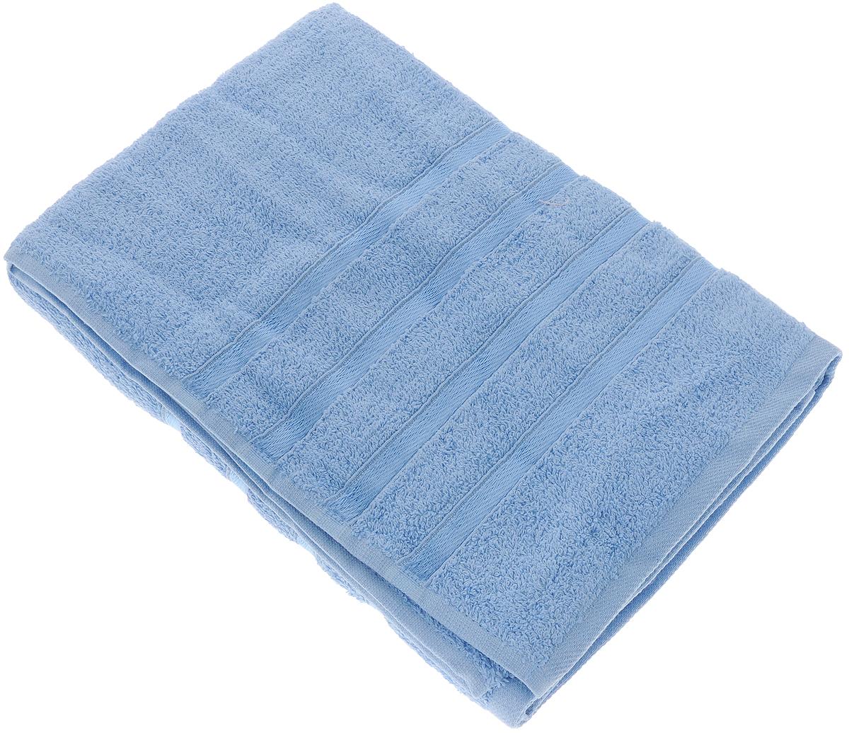 Полотенце Tete-a-Tete Ленты, цвет: голубой, 70 х 135 см. УП-002УП-002-04Полотенце Tete-a-Tete Ленты выполнено из натуральной махровой ткани (100% хлопок). Изделие отлично впитывает влагу, быстро сохнет, сохраняет яркость цвета и не теряет форму даже после многократных стирок. Полотенце очень практично и неприхотливо в уходе. Оно станет достойным выбором для вас и приятным подарком для ваших близких.