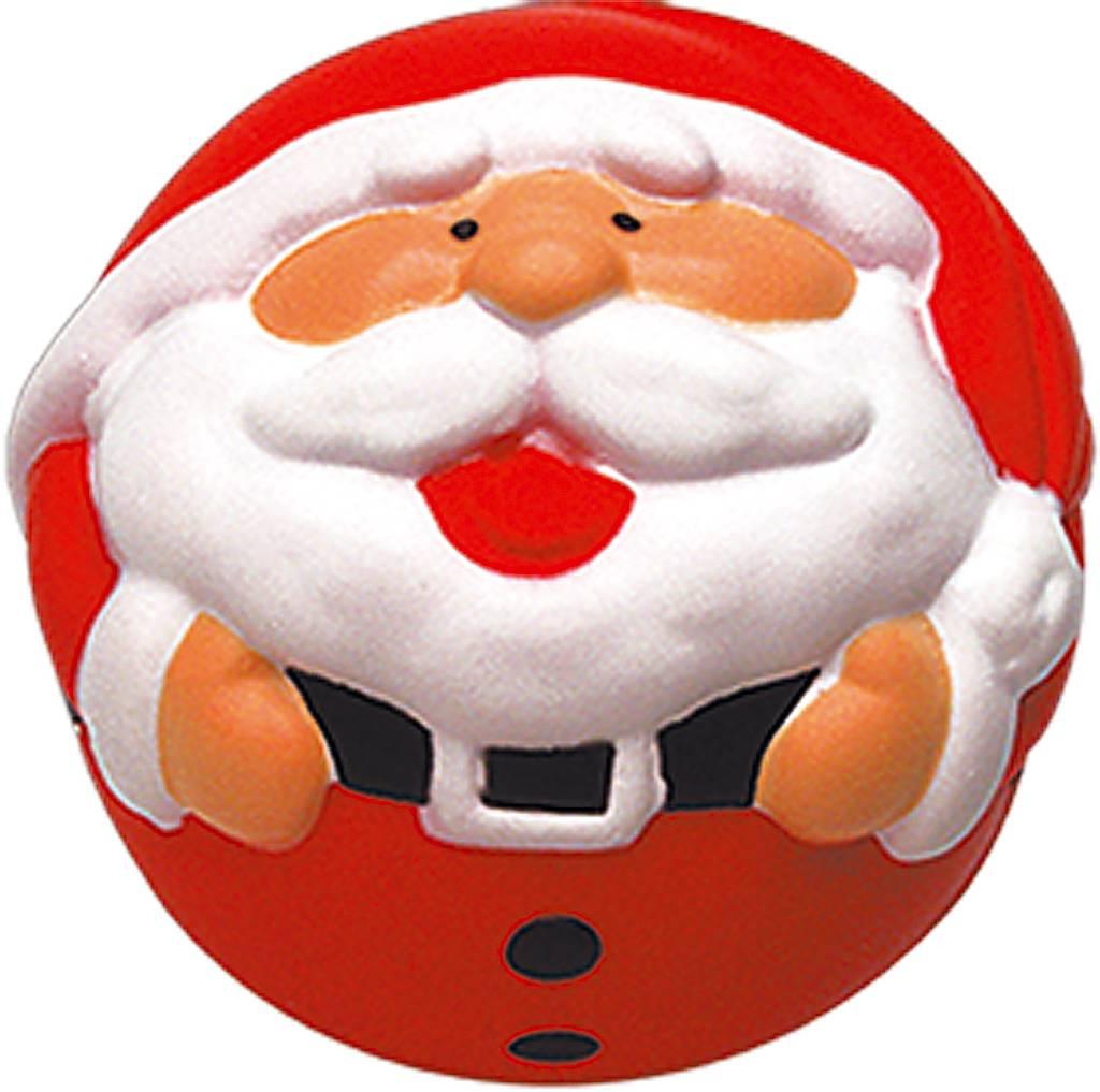Украшение-антистресс Mister Christmas Дед Мороз, цвет: красный, диаметр 7 смANTI-1Все еще мучаетесь с выбором новогодних подарков для коллег и друзей? Игрушка-антистресс Mister Christmas Дед Мороз порадует как детей, так и взрослых. Оригинальный дизайн игрушки сразу привлекает внимание: яркая цветовая гамма и всеми любимый Дедушка Мороз с широкой улыбкой никого не оставят равнодушным. И не удивительно, что к этому сувениру так и тянутся руки: приятная на ощупь пружинистая текстура игрушки создает эффект антистресс. Изделие выполнено из высококачественного материала, который обеспечивает игрушке легкость и прочность. В отличие от традиционных новогодних игрушек, эта никогда не разлетится на острые мелкие осколки, а при ударе о твердую поверхность лишь легко и весело пружинит. Такую игрушку удобно держать в руках как взрослому, так и ребенку.