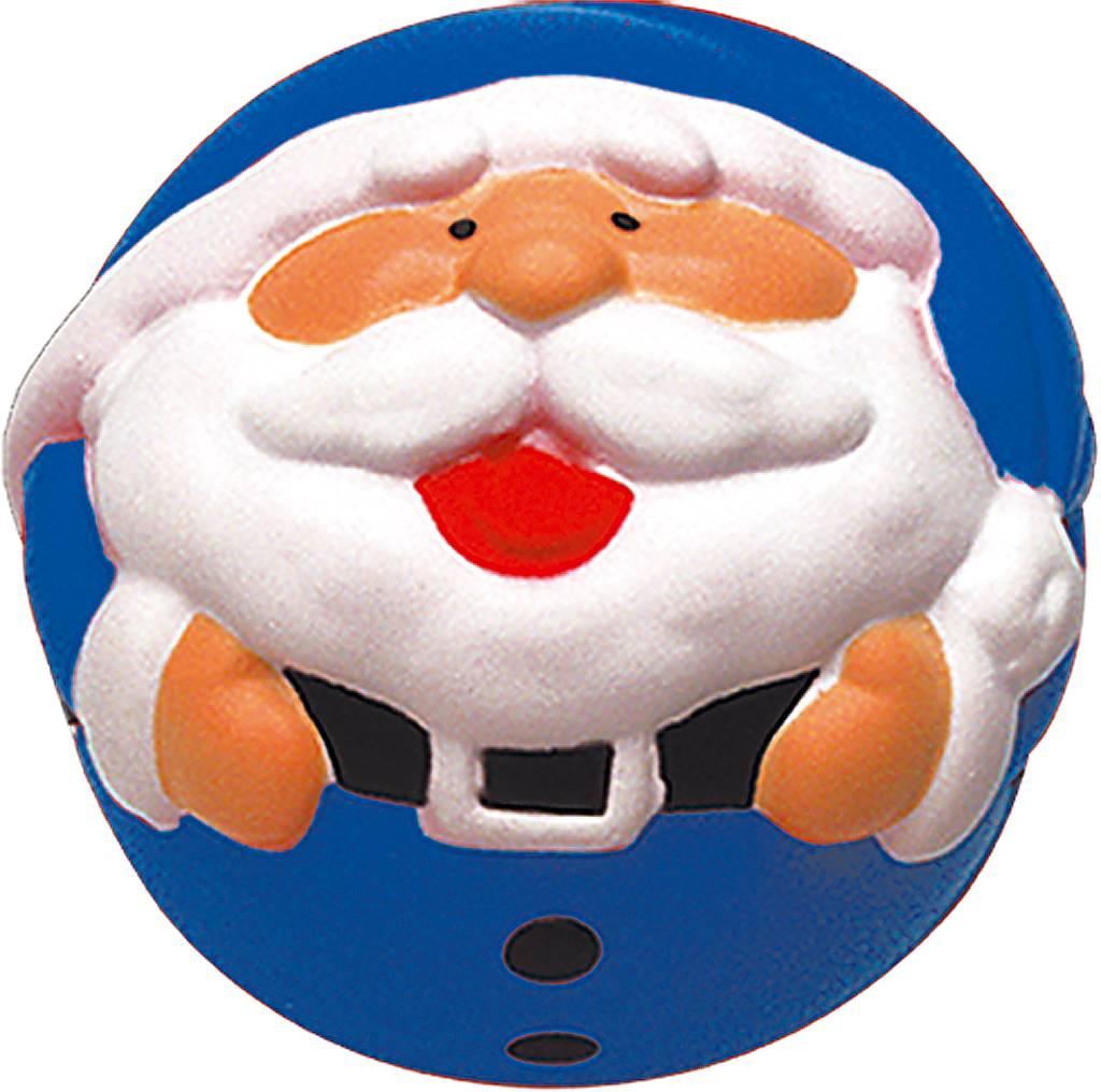 Украшение-антистресс Mister Christmas Дед Мороз, цвет: синий, диаметр 7 смANTI-2Все еще мучаетесь с выбором новогодних подарков для коллег и друзей? Игрушка-антистресс Mister Christmas Дед Мороз порадует как детей, так и взрослых. Оригинальный дизайн игрушки сразу привлекает внимание: яркая цветовая гамма и всеми любимый Дедушка Мороз с широкой улыбкой никого не оставят равнодушным. И не удивительно, что к этому сувениру так и тянутся руки: приятная на ощупь пружинистая текстура игрушки создает эффект антистресс. Изделие выполнено из высококачественного материала, который обеспечивает игрушке легкость и прочность. В отличие от традиционных новогодних игрушек, эта никогда не разлетится на острые мелкие осколки, а при ударе о твердую поверхность лишь легко и весело пружинит. Такую игрушку удобно держать в руках как взрослому, так и ребенку.