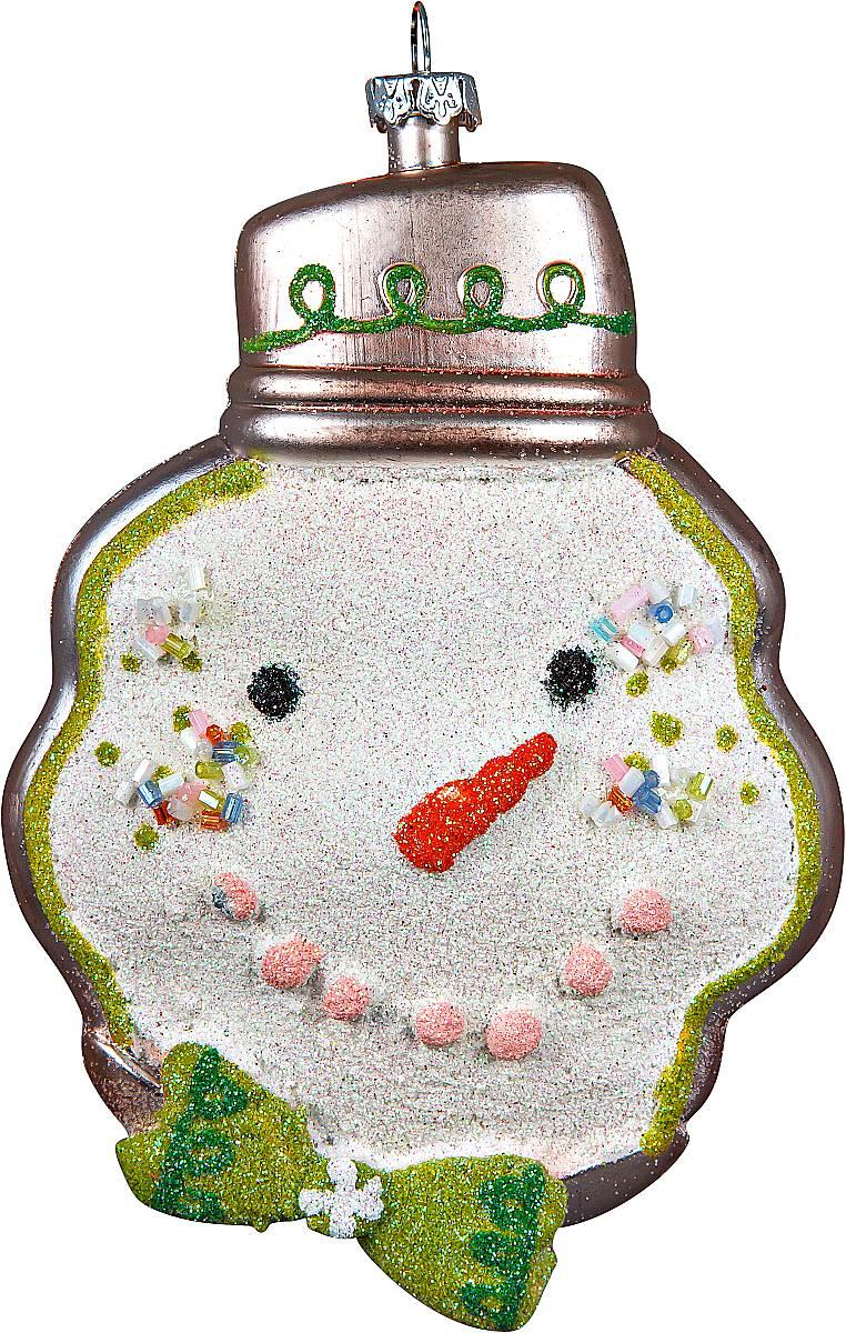 Украшение новогоднее подвесное Mister Christmas Снеговик, высота 15 смCD-05Новогоднее подвесное украшение Mister ChristmasСнеговик прекрасно подойдет для праздничногодекора новогодней ели. Украшение выполнено изпластика. Для удобного размещения на елкепредусмотрена петелька.Елочная игрушка - символ Нового года. Она несет в себеволшебство и красоту праздника. Создайте в своем домеатмосферу веселья и радости, украшая новогоднюю елкунарядными игрушками, которые будут из года в годнакапливать теплоту воспоминаний.
