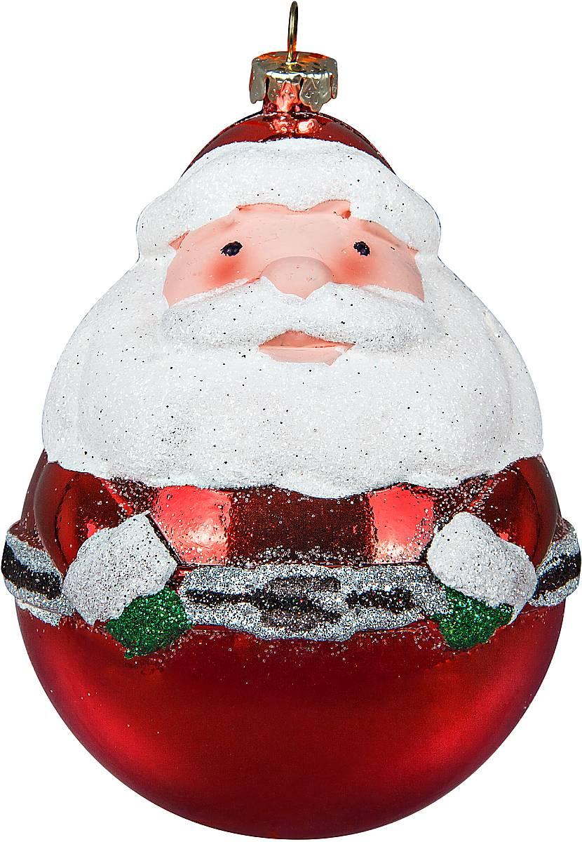 Украшение новогоднее подвесное Mister Christmas Дед Мороз, цвет: красный, высота 11 смCD-20Новогоднее подвесное украшение Mister Christmas Дед Мороз прекрасно подойдет для праздничного декора новогодней ели. Украшение выполнено из пластика. Для удобного размещения на елке предусмотрена петелька. Елочная игрушка - символ Нового года. Она несет в себе волшебство и красоту праздника. Создайте в своем доме атмосферу веселья и радости, украшая новогоднюю елку нарядными игрушками, которые будут из года в год накапливать теплоту воспоминаний.