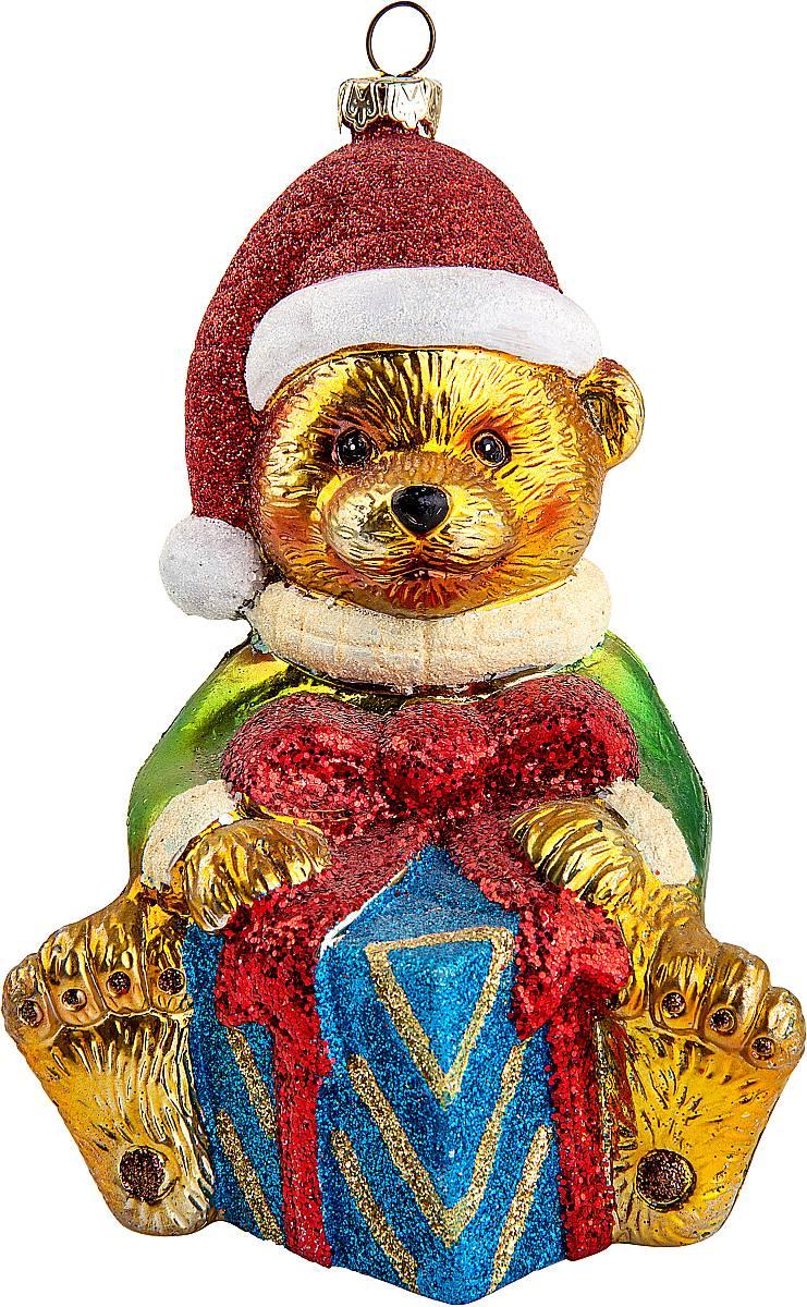 Украшение новогоднее подвесное Mister Christmas Медвежонок, высота 14 смCD-36Новогоднее подвесное украшение Mister Christmas Медвежонок прекрасно подойдет для праздничного декора новогодней ели. Украшение выполнено из пластика. Для удобного размещения на елке предусмотрена петелька. Елочная игрушка - символ Нового года. Она несет в себе волшебство и красоту праздника. Создайте в своем доме атмосферу веселья и радости, украшая новогоднюю елку нарядными игрушками, которые будут из года в год накапливать теплоту воспоминаний.