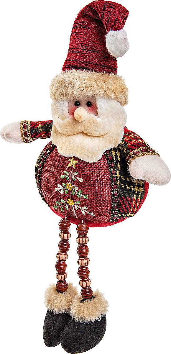 Игрушка новогодняя мягкая Mister Christmas Дед Мороз, высота 23 смCHL-504SNМягкая новогодняя игрушка Mister Christmas Снеговик, изготовленная из текстиля, прекрасно подойдет для праздничного декора дома. Изделие можно разместить в любом понравившемся вам месте. Новогодняя игрушка несет в себе волшебство и красоту праздника. Создайте в своем доме атмосферу веселья и радости, украшая дом красивыми игрушками, которые будут из года в год накапливать теплоту воспоминаний.Высота игрушки: 23 см.