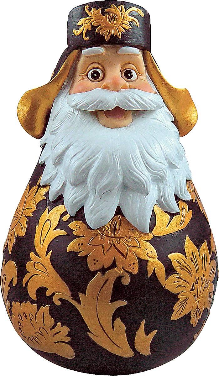 Фигурка-неваляшка новогодняя Mister Christmas Дед Мороз, высота 11 см. DKM-04DKM-04Новогодняя фигурка-неваляшка Mister Christmas Дед Мороз выполнена из высококачественного полистоуна. Изделие представлено виде Деда Мороза с густыми усами и бородой, он одет в шапку-ушанку. Игрушка изготовлена полностью вручную, что делает ее не только оригинальным, но эксклюзивным сувениром. Такая фигурка оформит интерьер вашего дома или офиса в преддверии Нового года. Кроме того, это отличный вариант подарка для ваших близких и друзей.Высота: 11 см.