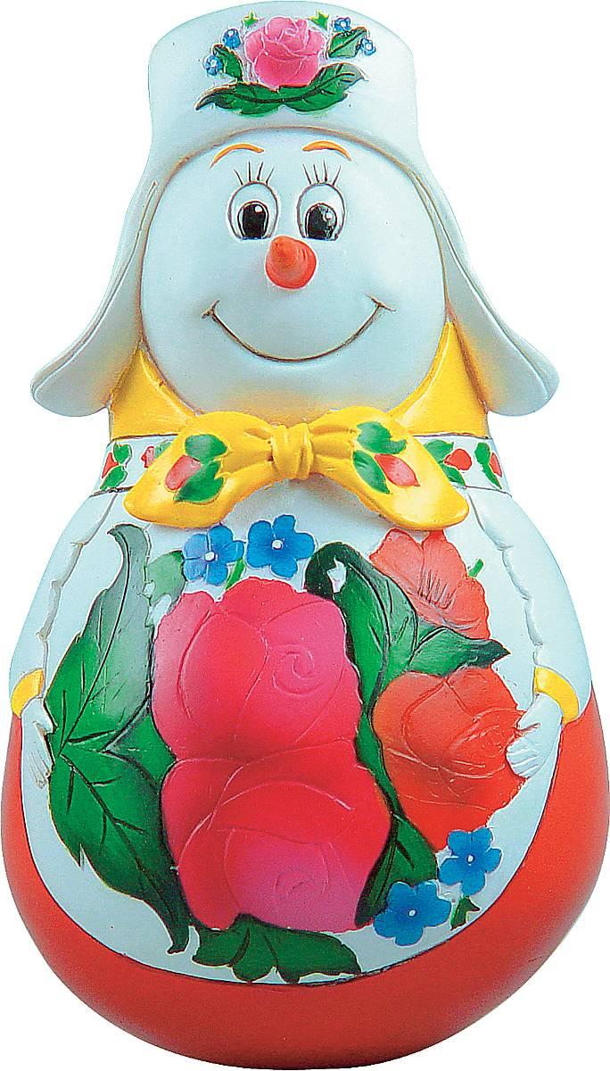 Фигурка-неваляшка новогодняя Mister Christmas Снеговик, высота 11 см. MKM-05MKM-05Новогодняя фигурка-неваляшка Mister Christmas Снеговик выполнена из высококачественного полистоуна. Изделие представлено виде улыбчивого снеговика, который одет в шапку-ушанку и шарф. Игрушка изготовлена полностью вручную, что делает ее не только оригинальным, но эксклюзивным сувениром. Такая фигурка оформит интерьер вашего дома или офиса в преддверии Нового года. Кроме того, это отличный вариант подарка для ваших близких и друзей.Высота: 11 см.