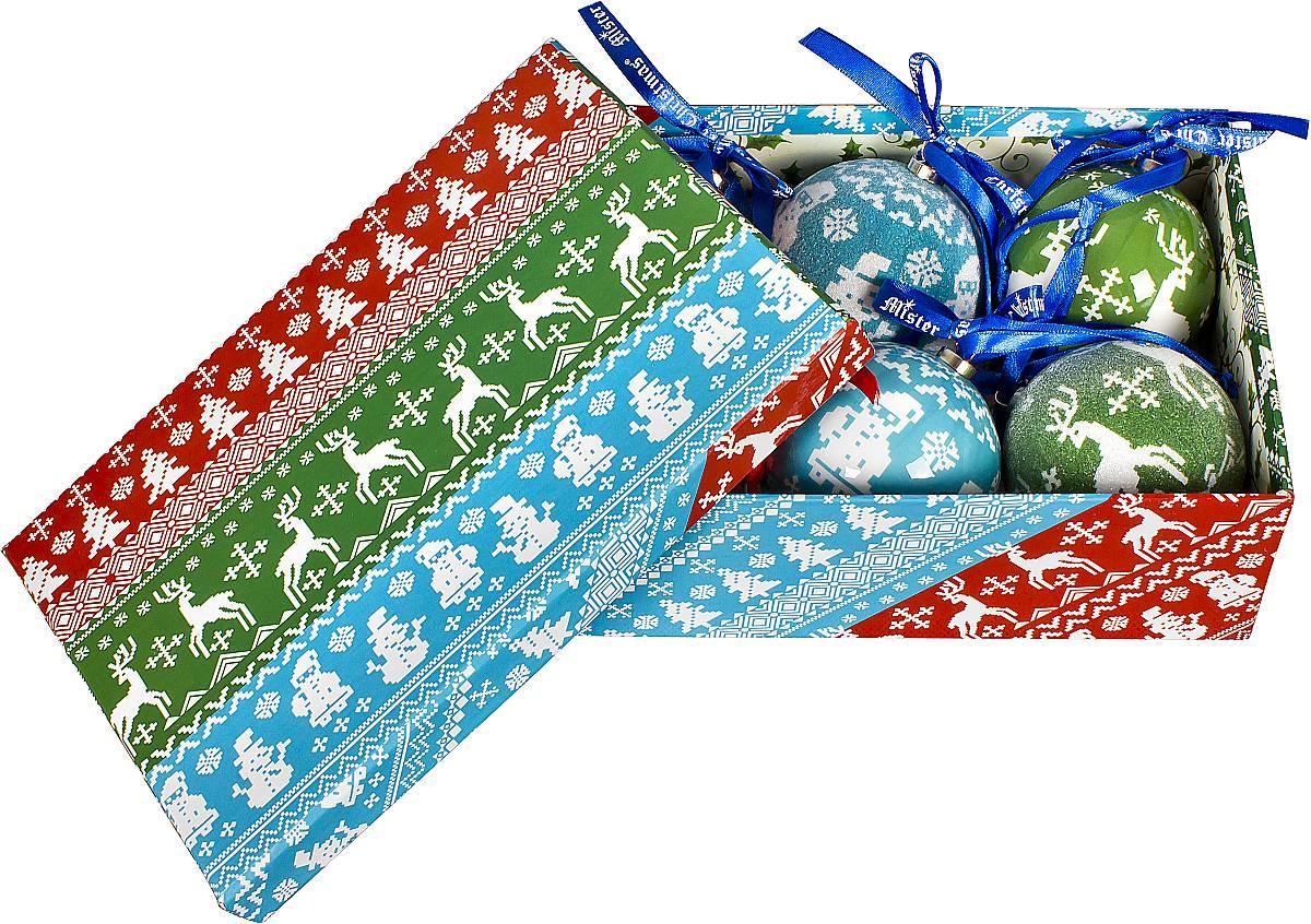 все цены на Набор новогодних подвесных украшений Mister Christmas
