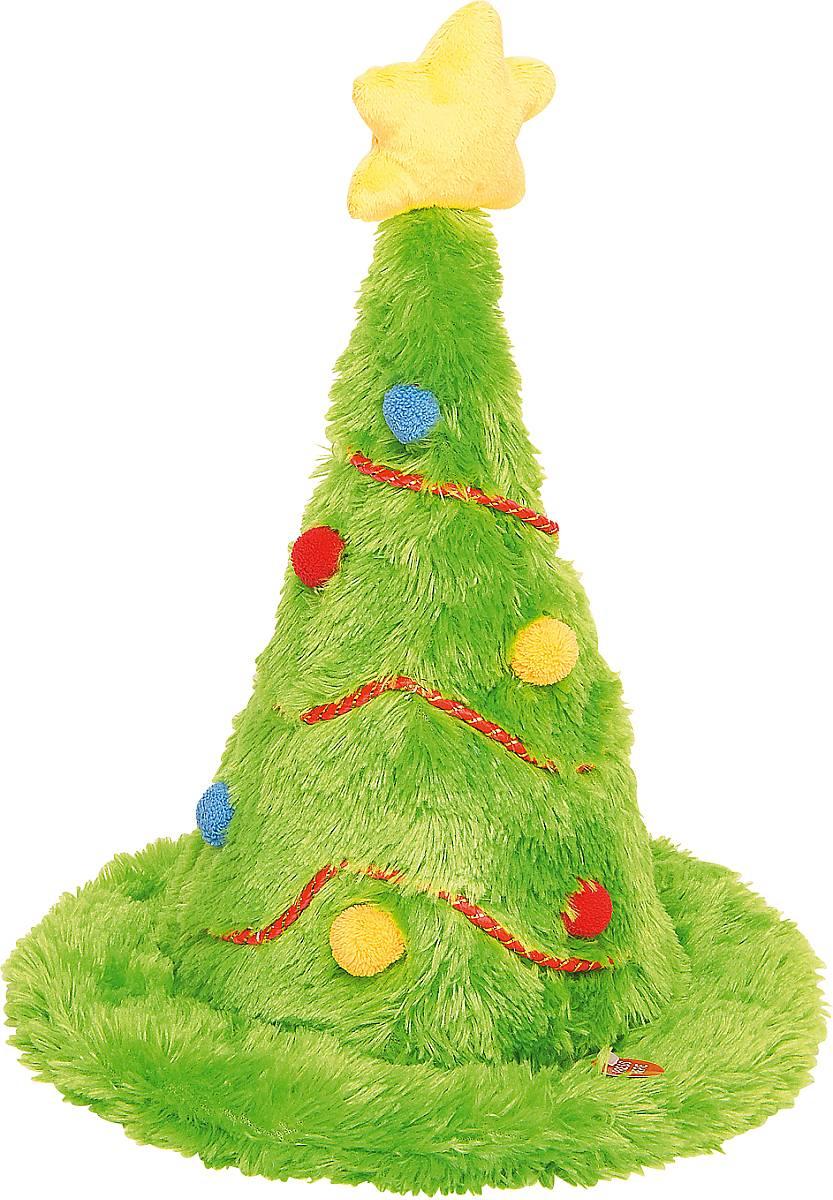 Игрушка новогодняя Mister Christmas Елка, электромеханическая, высота 42 смSL-HATНовогодняя электромеханическая игрушка Mister Christmas Елка послужит оригинальным подарком в преддверии Нового года.Игрушка-шапка, выполненная из искусственного меха, внешне очень напоминает новогоднюю елку: приятный зеленый цвет, новогодние гирлянды, разноцветные шарики и желтая звезда на макушке создают всем знакомый образ. С легкого нажатия на кнопку волшебная игрушка начинает исполнять зажигательный рок-н-ролл и махать макушкой в такт звучащей музыке. Такое блистательное выступление не оставит вокруг себя равнодушных. Изделие работает от батареек (входят в комплект).Собираясь на празднование Нового года, прихватите с собой новогоднюю музыкальную игрушку Mister Christmas Елка, ведь это подарок, который говорит сам за себя!Высота игрушки: 42 см.Диаметр игрушка: 30 см.