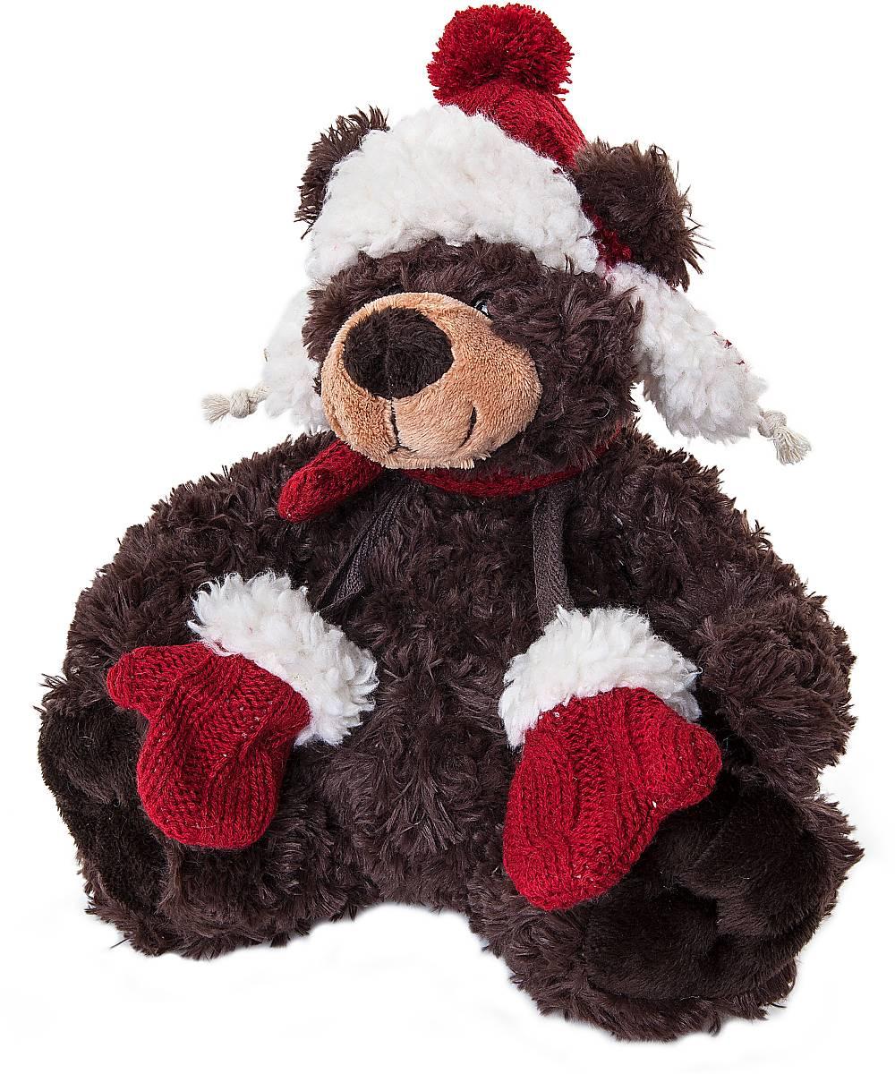 Игрушка новогодняя мягкая Mister Christmas Медвежонок, высота 20 смWD-BR-R2Мягкая новогодняя игрушка Mister Christmas Медвежонок, изготовленная из текстиля, прекрасно подойдет для праздничного декора дома. Изделие можно разместить в любом понравившемся вам месте. Новогодняя игрушка несет в себе волшебство и красоту праздника. Создайте в своем доме атмосферу веселья и радости, украшая дом красивыми игрушками, которые будут из года в год накапливать теплоту воспоминаний.