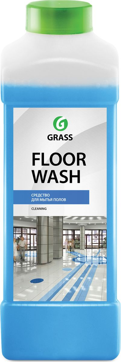 Универсальное чистящее средство Grass Floor wash для помещений  автомобилей, 1000 мл