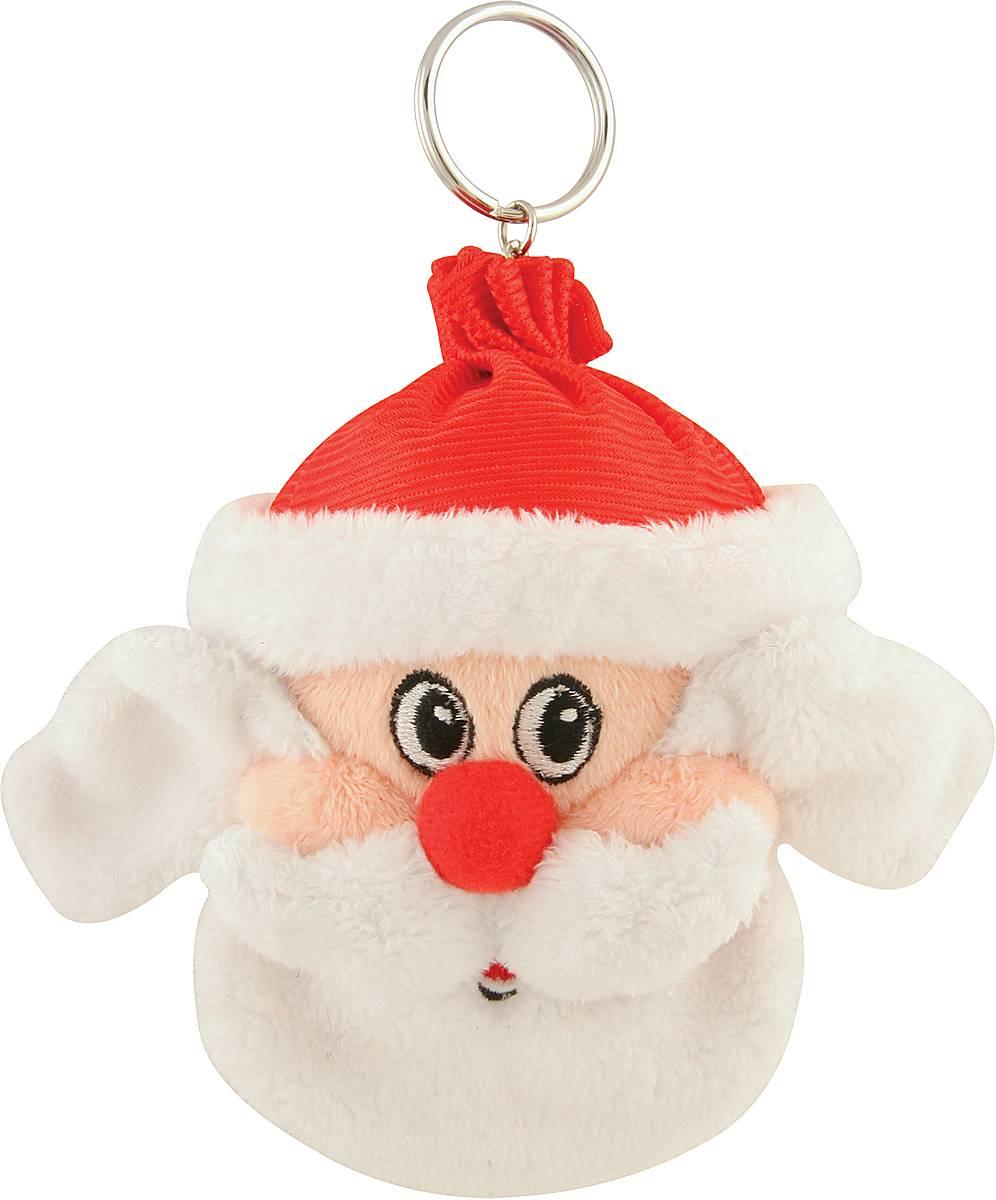 Брелок новогодний Mister Christmas Дед Мороз, высота 10 см набор подсвечников mister christmas дед мороз высота 22 5 см 2 шт