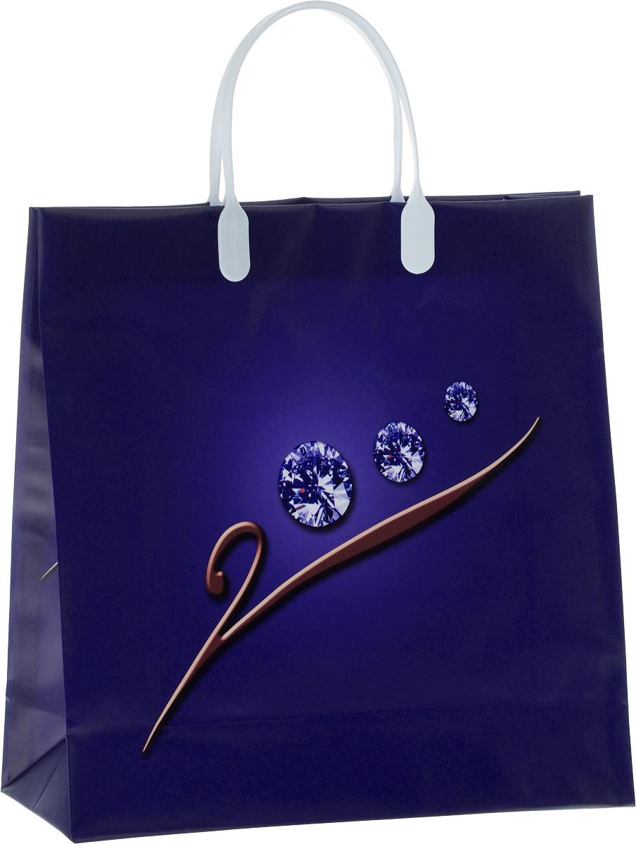 """Подарочный пакет """"Bello"""", изготовленный из пищевого полипропилена, станет незаменимым дополнением к выбранному подарку. Дно изделия укреплено плотным картоном, который позволяет сохранить форму пакета и исключает возможность деформации дна под тяжестью подарка. Для удобной переноски на пакете имеются две пластиковые ручки.Подарок, преподнесенный в оригинальной упаковке, всегда будет самым эффектным и запоминающимся. Окружите близких людей вниманием и заботой, вручив презент в нарядном, праздничном оформлении.Грузоподъемность: 12 кг.Морозостойкость: до -30°С."""