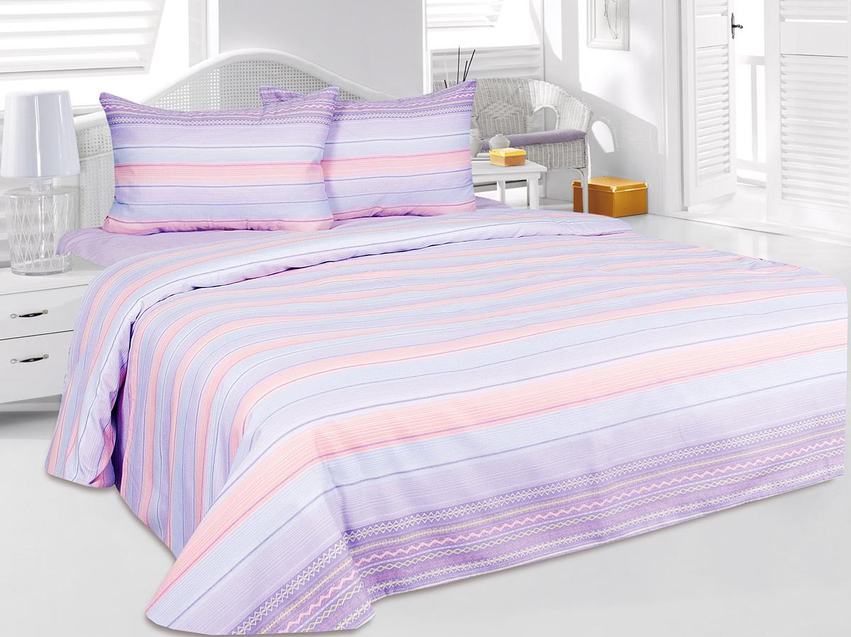 Комплект белья Tete-a-Tete Фрона, 2-спальный, наволочки 50x70Т-2114-02Комплект постельного белья Tete-a-Tete Фрона, выполненный из сатина (100% хлопка), создан для комфорта и роскоши. Комплект состоит из пододеяльника, простыни и 2 наволочек. Постельное белье оформлено оригинальным рисунком. Нежная пастельная гамма подчеркивает деликатность рисунка и наполняет интерьер мягким сиянием натурального хлопка-сатина. Сатин - это хлопок высшего сорта: высокопрочный, самый популярный в мире натуральный материал, известный своими впитывающими и терморегулирующими свойствами. Сатин отличает оригинальное саржевое переплетение с использованием уплотненных нитей двойной скрутки, что делает белье из сатина исключительно прочным и долговечным; оно выдерживает от 200 до 300 стирок, не теряя блеска и яркости красок.Комплект, упакованный в подарочную коробку, станет отличным подарком для вас и ваших близких.Советы по выбору постельного белья от блогера Ирины Соковых. Статья OZON Гид