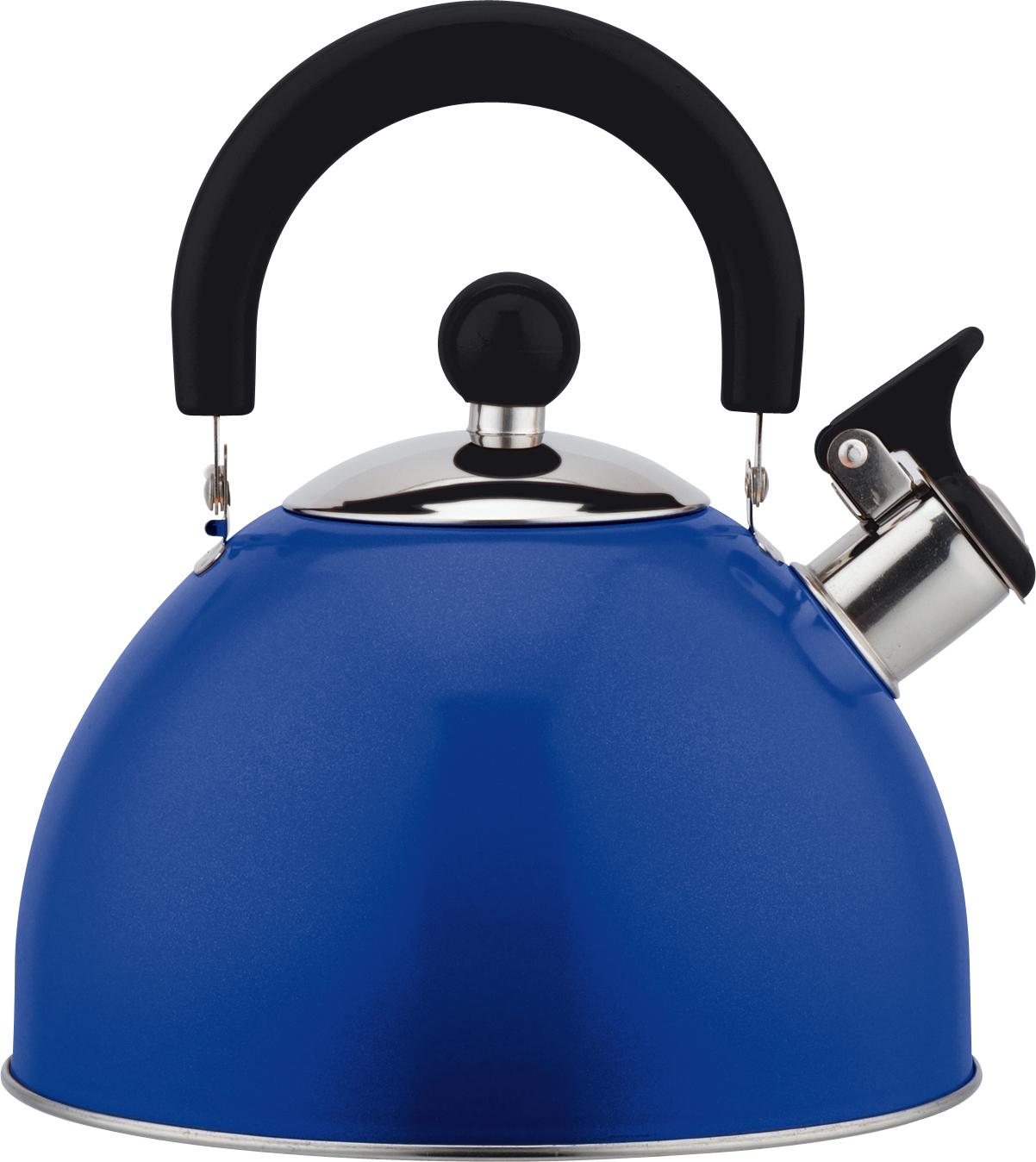 Чайник Bekker, со свистком, цвет: синий, 2 л. BK-S579BK-S579Чайник Bekker выполнен из высококачественной нержавеющей стали, что обеспечивает долговечность использования. Внешнее цветное глянцевое покрытие придает изделию изысканный вид. Подвижная нейлоновая ручка делает использование чайника очень удобным и безопасным. Чайник снабжен откидным свистком, который подскажет, когда закипела вода. Изделие имеет капсулированное дно для лучшего распределения тепла.Не рекомендуется мыть в посудомоечной машине. Пригоден для всех видов плит, включая индукционные.Высота чайника (без учета крышки и ручки): 11 см.Диаметр отверстия: 9 см.