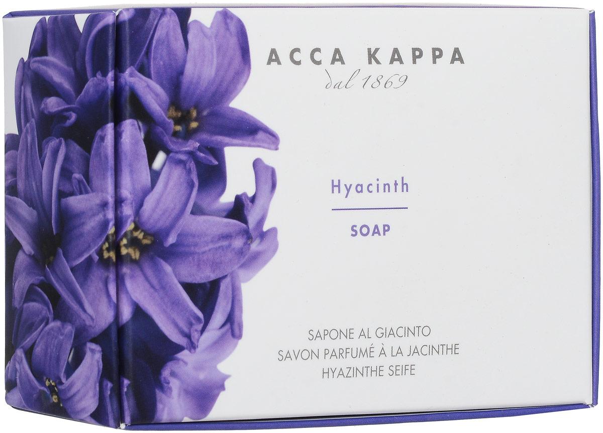 Acca Kappa Растительное мыло Гиацинт, 150 г853371Растительное мыло Acca Kappa Гиацинт деликатно очищает кожу. Идеально подходит для всех типов кожи.Растительные компоненты получены из кокосового масла и сахарного тростника, прекрасно очищают и увлажняют кожу. Экстракты мелиссы лимонной, омелы, ромашки, тысячелистника и хмеля известны своими противовоспалительными свойствами и превосходно дополняют формулу. Так же мыло обогащено аллантоином растительного происхождения, которое обладает заживляющими свойствами и способствует регенерации клеток. Характеристики: Вес: 150 г. Производитель: Италия. Товар сертифицирован.