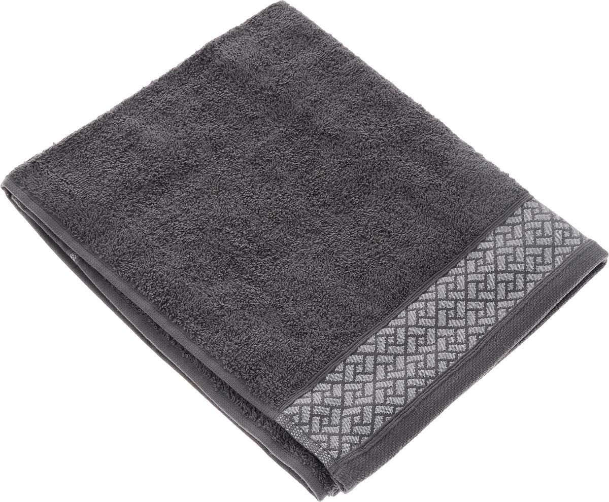 Полотенце Aisha Home Textile Лабиринт, цвет: серый, 50 х 90 см. УП-009УП-009-03Полотенце Aisha Home Textile Лабиринт выполнено из 100% хлопка. Изделие отлично впитывает влагу, быстро сохнет, сохраняет яркость цвета и не теряет форму даже после многократных стирок. Такое полотенце очень практично и неприхотливо в уходе. Оно создаст прекрасное настроение и украсит интерьер в ванной комнате.