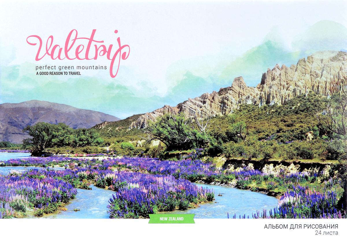 ArtSpace Альбом для рисования Romantic Places New Zealand 24 листаА24ф_9145Альбом для рисования ArtSpace Romantic Places. New Zealand будет вдохновлять вашего ребенка на творческий процесс.Альбом изготовлен из белоснежной бумаги с яркой обложкой, оформленной изображением прекрасного пейзажа. Внутренний блок альбома состоит из 24 листов, соединенных скрепками. Высокое качество бумаги позволяет рисовать в альбоме различными типами красок, фломастерами, цветными и чернографитными карандашами, гелевыми ручками. Занимаясь изобразительным творчеством, ребенок тренирует мелкую моторику рук, становится более усидчивым и спокойным.
