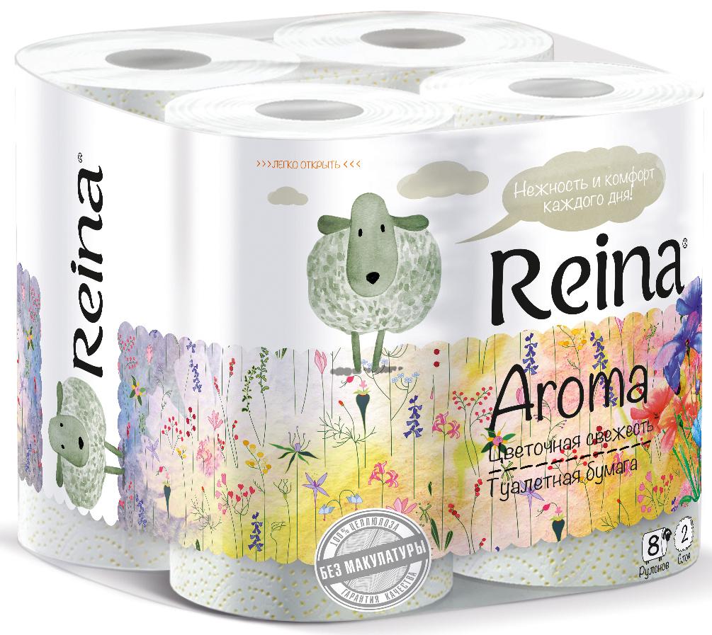 Туалетная бумага Reina