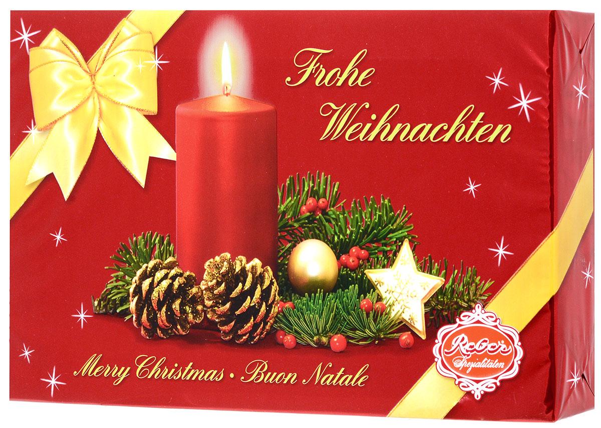 Reber Mozart подарочный набор шоколадных конфет, 285 г1410101/1_новогодний дизайнПодарочный набор шоколадных конфет Reber Mozart - это не просто конфеты, это настоящие кондитерские шедевры. Впервые конфеты Reber Mozart были выпущены в 1890 году, через 100 лет после смерти великого Моцарта, и сразу завоевали невероятную популярность. Известные своим исключительным качеством, оригинальностью и изысканным дизайном, шоколадные деликатесы Reber в форме небольших подарочков - это настоящие драгоценности для ценителей.Уважаемые клиенты! Обращаем ваше внимание, что полный перечень состава продукта представлен на дополнительном изображении.