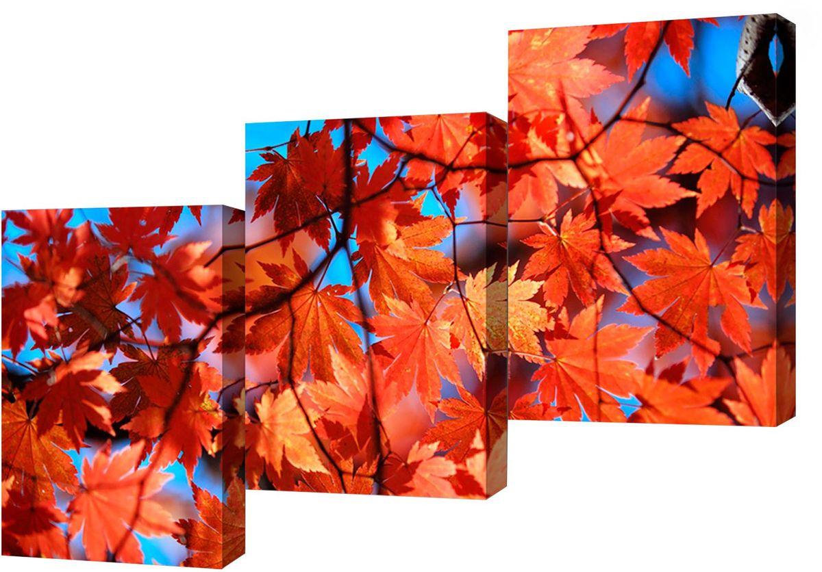 Картина модульная Toplight Природа, 150 х 70 см. TL-M2036TL-M2036Модульная картина Toplight Природа выполнена из синтетического полотна, подрамник из МДФ. Картина состоит из трех частей и выглядит очень аккуратно и эстетично благодаря такому способу оформления как галерейная натяжка. Подрамник исключает провисание полотна. Современные технологии, уникальное оборудование и цифровая печать, используемые в производстве, делают постер устойчивым к выцветанию и обеспечивают исключительное качество произведений. Благодаря наличию необходимых креплений в комплекте установка не займет много времени. Модульная картина - это прекрасная возможность создать яркий акцент при оформлении любого помещения. Изделие обязательно привлечет внимание и подарит немало приятных впечатлений своим обладателям. Правила ухода: можно протирать сухой, мягкой тканью. Рекомендованное расстояние между сегментами: 2 см. Толщина подрамника: 3 см.