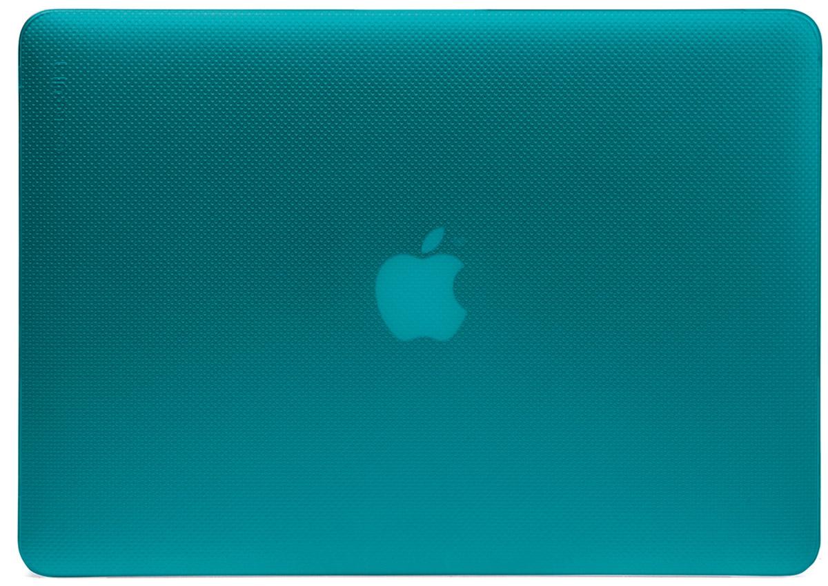 Incase Hardshell Case Dots чехол для Apple MacBook Air 11, PeacockCL90055Защитите свой MacBook и украсьте его в своём стиле с помощью лёгкого облегающего футляра Hardshell Case Dots от Incase. Он обеспечивает полную защиту, не закрывая доступ к разъёмам, индикаторам и кнопкам. Этот прочный футляр для MacBook выполнен в элегантном стиле. Благодаря литой конструкции и прорезиненным ножкам ноутбук хорошо зафиксирован на месте и не нагревается. Имеет вентиляционные отверстия для отвода тепловыделения.