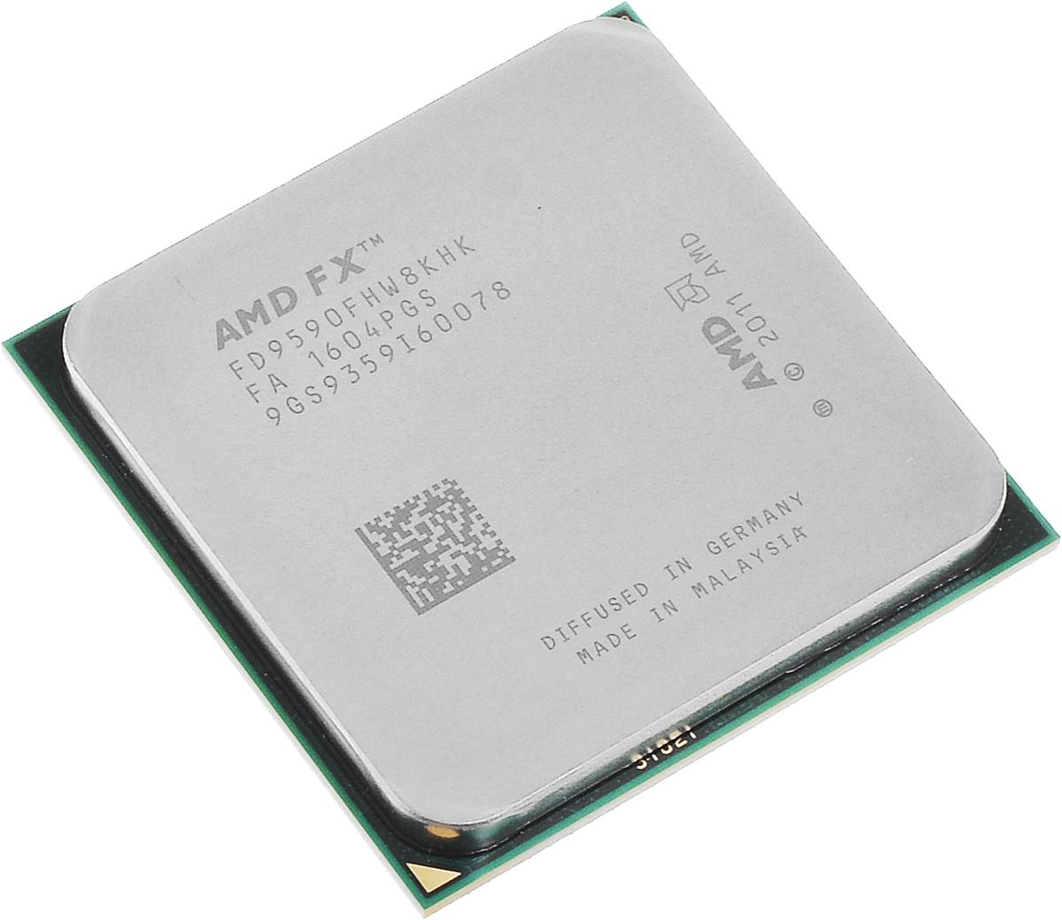 AMD FX-9590 процессор (FD9590FHW8KHK)FD9590FHW8KHKПроцессор AMD FX-9590 подойдет для настольных персональных компьютеров, основанных на платформе AMD. Данная модель имеет разблокированный множитель, а также встроенный двухканальный контроллер памяти DDR3.Процессор поддерживает все основные технологии AMD: AMD64Enhanced Virus Protection,HyperTransport,PowerNow! / CoolnQuiet,Turbo Core 3.0,Virtualization