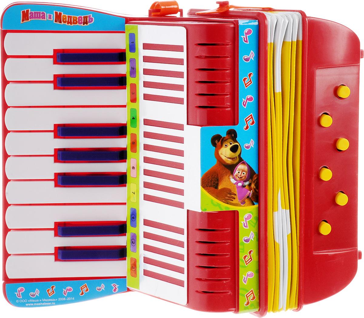 Играем вместе Аккордеон Маша и Медведь - Музыкальные инструменты