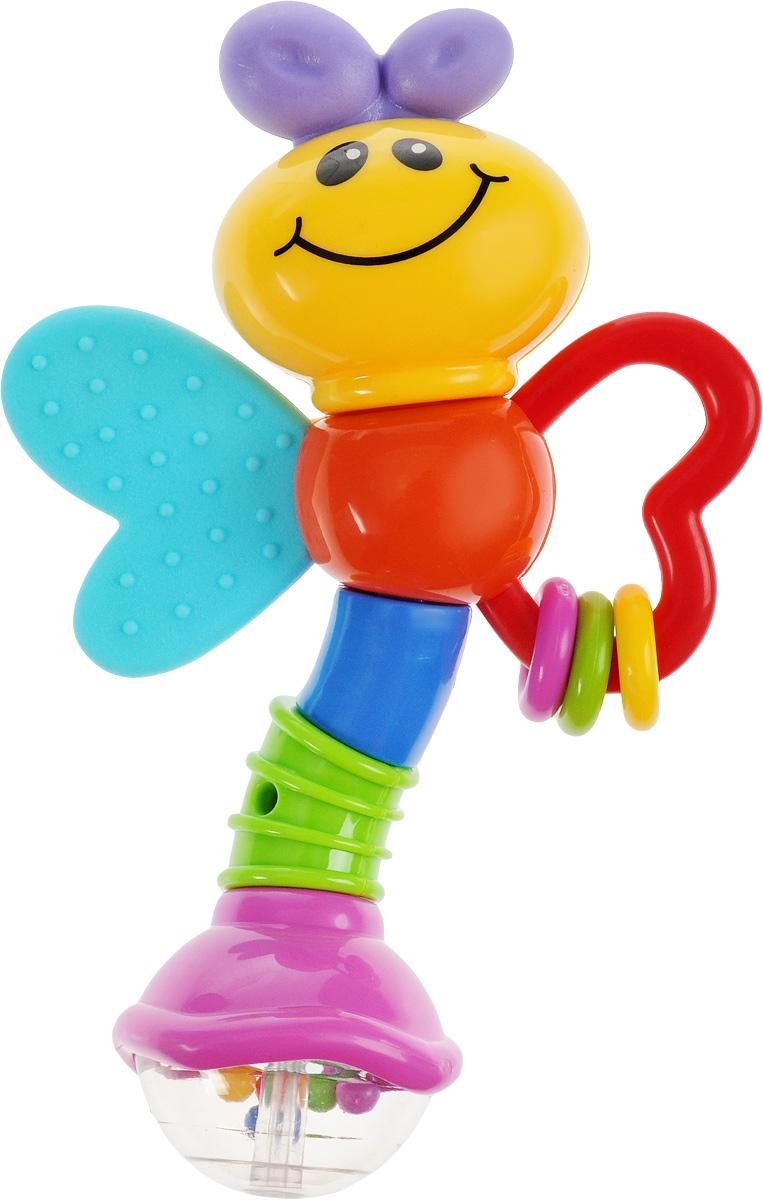 Умка Погремушка-пчелка Лунтик эксмо погремушка цвета