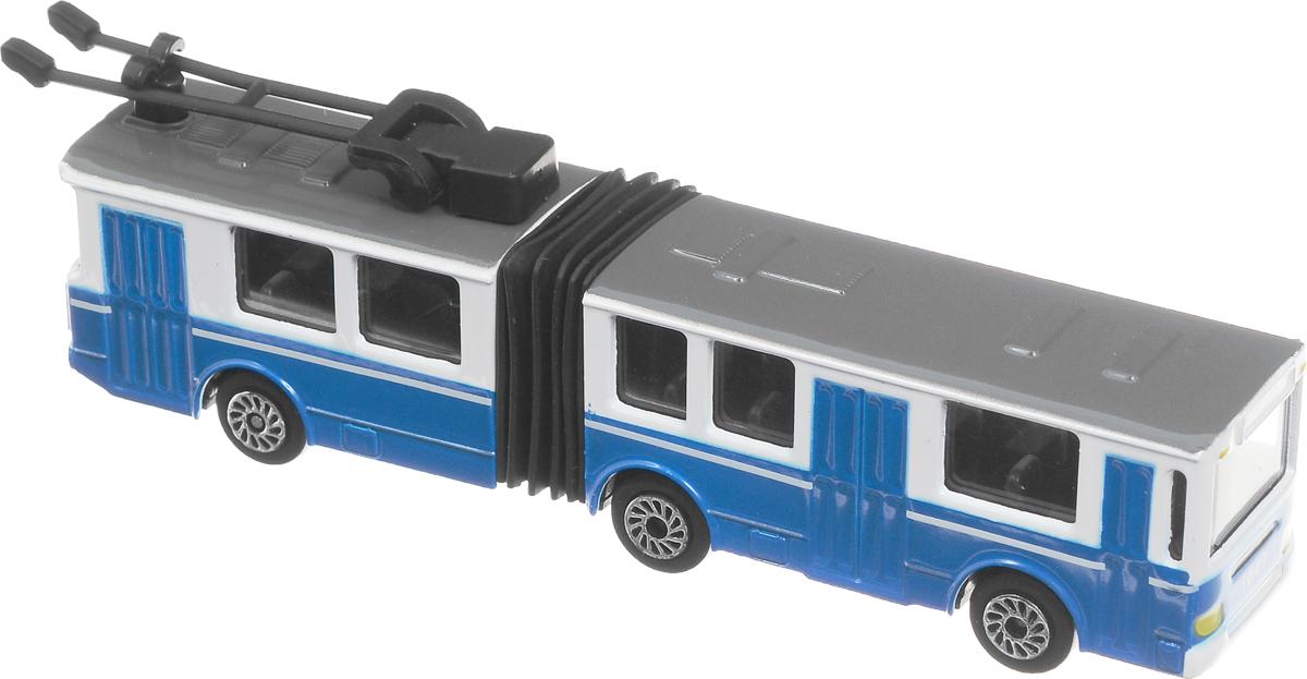 игрушка технопарк троллейбус trol rc ТехноПарк Троллейбус