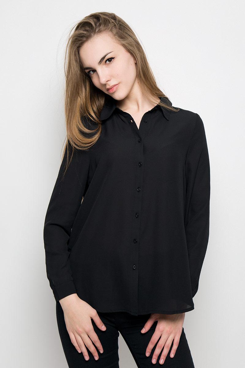 Блузка женская Broadway Shala, цвет: черный. 10156770_999. Размер L (48)