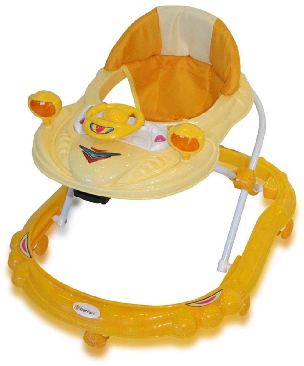 Bertoni Ходунки BW 14 цвет желтый -  Ходунки, прыгунки, качалки