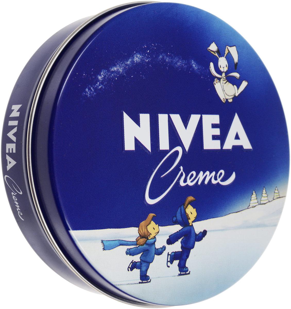 Крем Nivea Creme для кожи, 150 мл nivea men s water cool cooling увлажняющий гель 150 мл молочный крем для мужчин с увлажняющим увлажняющим средством для ухода за кожей net shuang