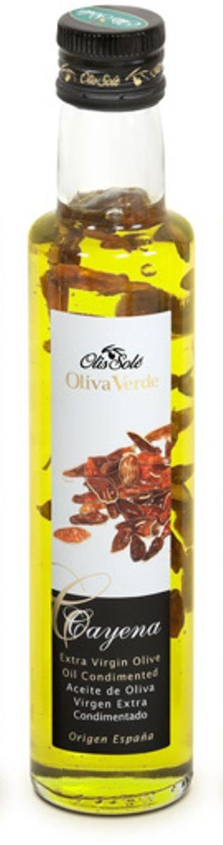 Olis Sole Оливковое масло Extra Virgin с кайенским перцем, 250 мл8437001404339Олис соле Оливковое масло с кайенским перцем - нерафинированное оливковое масло первого холодного отжима (Extra Virgin Olive Oil) кислотностью 0,2%, которая является лечебной по испанским законам. ЭКОЛОГИЧЕСКИЙ ФЕРМЕРСКИЙ ПРОДУКТ из оливок сорта Арбекина раннего сбора урожая. Диетический продукт!Производится старейшей испанской компанией OLIS SOLE.S.L. (марки Olis Sole и MasTarres) в Каталонии в Mont-roing del Camp. Компанию основала в 1944 году великая бабушка семьи Sole - мадам Мария Яват. Благодаря ей были разработаны фирменные стандарты качества и секретные технологии. С тех пор семья традиционно производит оливковые масла Экстра Вирджен самой высшей категории. Они ценятся во всем мире, имеют блестящую репутацию среди экспертов и удовлетворяют самым высоким требованиям гурманов всего мира.