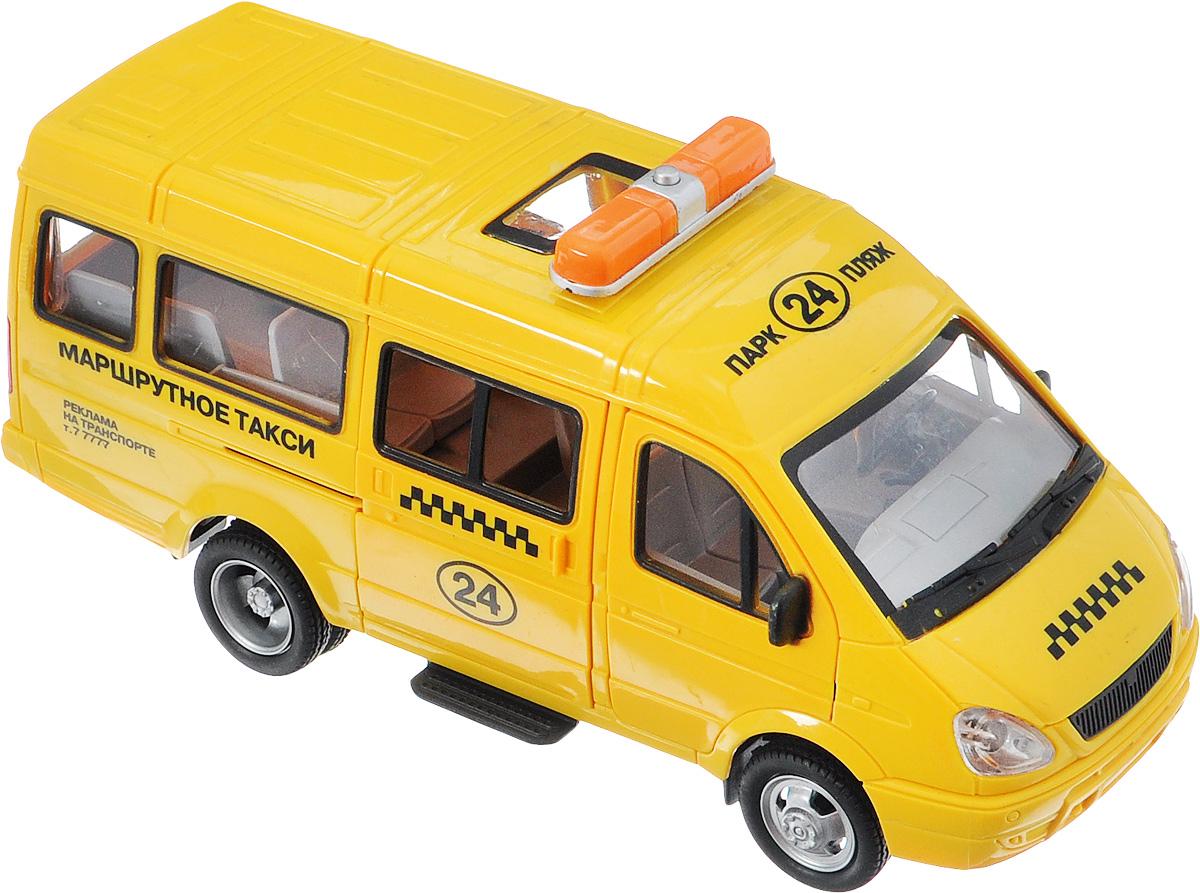 ТехноПарк Машинка инерционная Газель Маршрутное такси машины технопарк машина газель такси