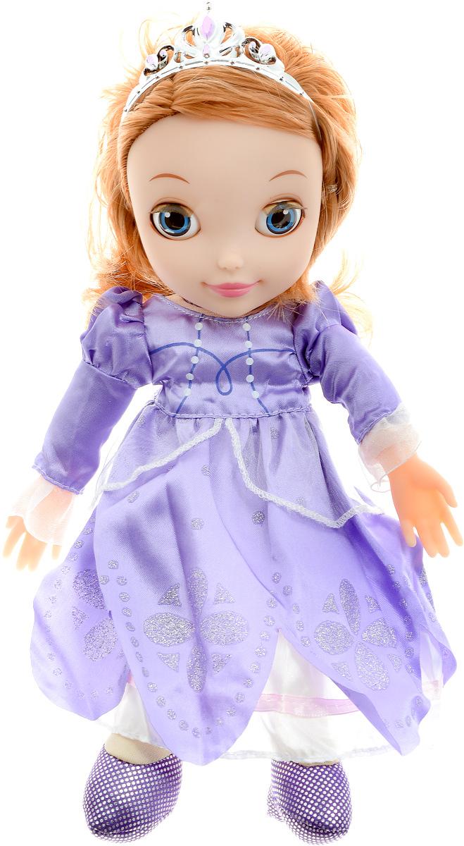 Мульти-Пульти Кукла озвученная София Прекрасная Моя маленькая принцесса мягкие игрушки карапуз кукла мульти пульти disney принцесса рапунцель