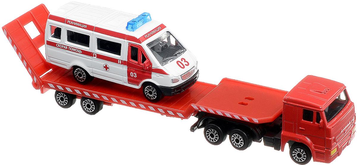 ТехноПарк Автотранспортер КамАЗ со скорой помощью футляр укладка для скорой медицинской помощи купить в украине