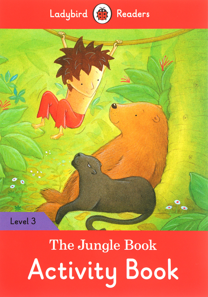 The Jungle Book: Activity Book: Level 3 wolves